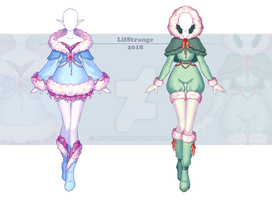[Close] Adoptable Outfit Auction 223-224 by LifStrange