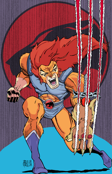 Lion-O Color by MentalPablum