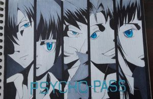 Psycho-Pass by Meeepitsbia