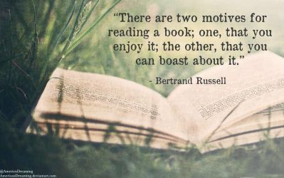 Bertrand Russell on Books by AmericanDreaming