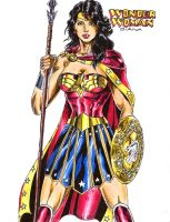 Wonder Woman Amazon Warrior by kiborgalexic