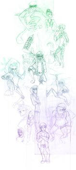 Sketchdump by calmdownUlush