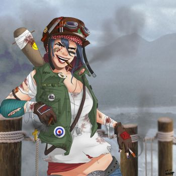 Tank Girl by ZombieGorillaz