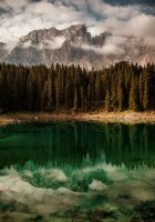 Lago di Carezza by Annabelle-Chabert