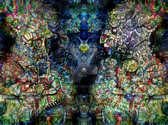 ayahuasca vision by TheoHoldt