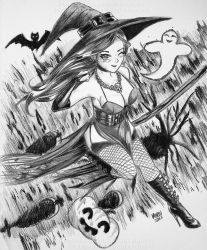 Halloween 2017! Witch OC by Virus-Tormentor