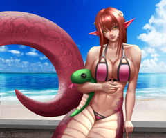Summer Vacation Miia by jay156