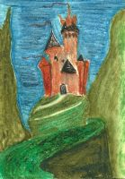 Hill Crest Castle by MindfullyArtistic