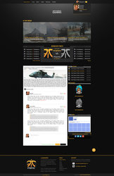 E-Sport Gaming Layout by haszuUu