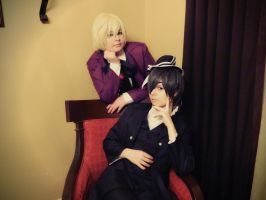 Alois Trancy and Ciel Phantomhive by NaruForeverSasu