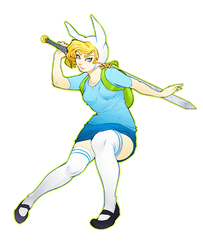 Fionna the Human by Makime