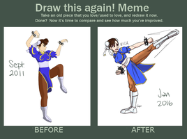 Draw this Again - Chun Li by Mr-Sage
