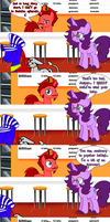 BabsCon CMSN Special: The Fidgety Secretary by JasperPie