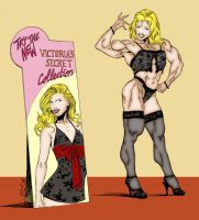 Victoria's secret Cheesedog by hardbodies