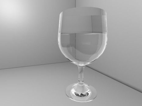Glass of water by LoreGfx