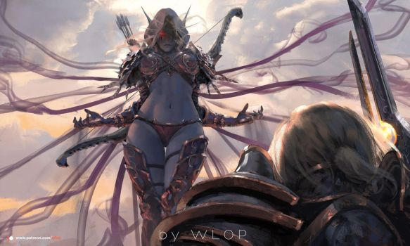Sylvanas by wlop
