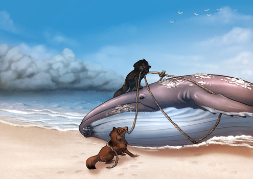 Whale of A Problem by JadeRavenwing
