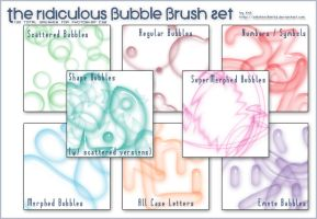 The Ridiculous Set of Bubbles by SillehKnilleh8D