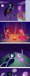 Marceline and Bubblegum BF... Fs? by MonteCreations