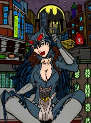 Catwoman and her........pussycats by CDL113