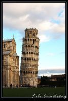 The Leaning Tower of Pisa by jadeoracle