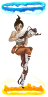 Chell by Deus-Marionette