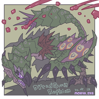 Dreadqueen Rathian by mikeythesk8er
