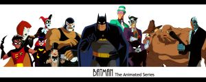 Batman The Animated Series by gnyns