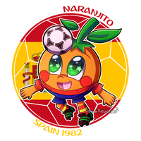 [World Cup Mascot] - Naranjito by KawaiiRebichan