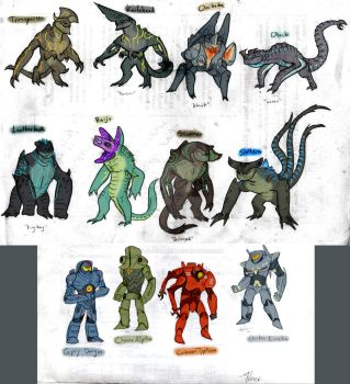 Pacific Rim - Kaiju Ask Blog version by RoFlo-Felorez