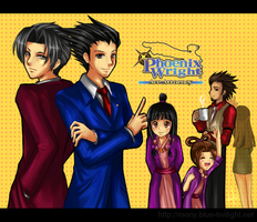 Phoenix Wright by kaiser-mony