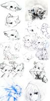 Sketchdump 1 by Silver-Artemis-Moon
