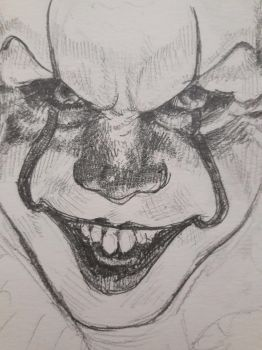 Pennywise wip by skirniskolops