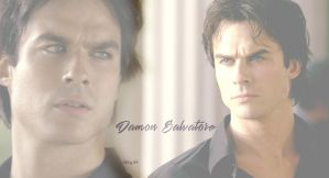 Damon Salvatore by letydb