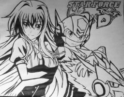 Star Force DxD by vocaloidHM01