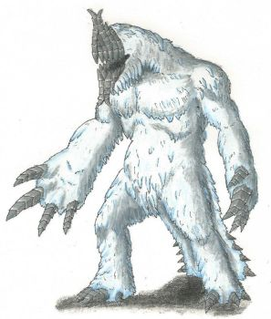 Gnofgus, Thing From The Ice by TheHiddenElephant