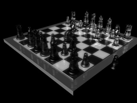 Chess Board from 2004! by Mistava