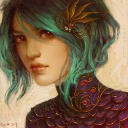Teal by Camille-Marie