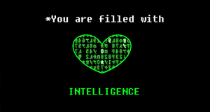 Fanmade Undertale Trait #11: INTELLIGENCE by Phoenix-Prime-3000