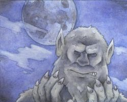 The Wolfman by GH-MoNGo