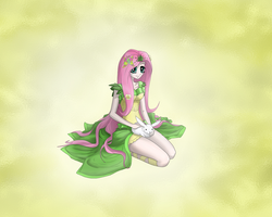 MLP Fluttershy (Human) by Malifikyse