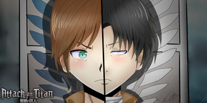 Attack on titan by nellydrawings