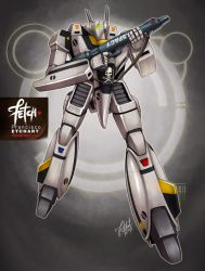 24/32 Robots / VF-1S Valkyrie by FranciscoETCHART