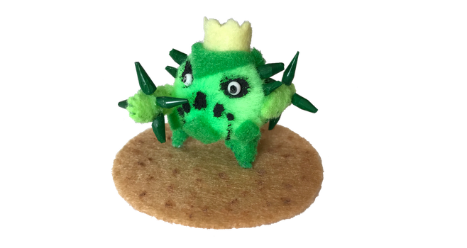Cacnea Used Needle Arm! by LuckyNumber113