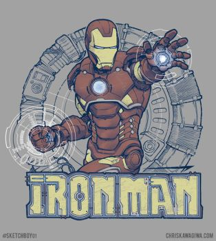 IRON MAN of Stark Industries by sketchboy01