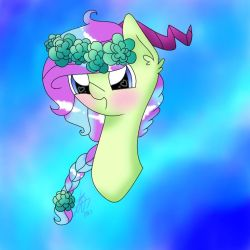 Art Trade: @PonyyPegasister by PastelBreeze14