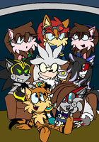 The S.F.F Team Movie Night by sonicwarriors7