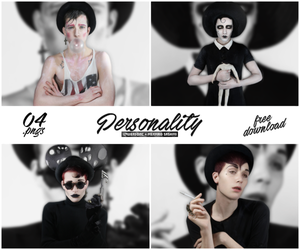 Pack PNG #01 - Personality by xPEGASVS