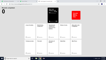 Cards Against Humanity (1) by AutobotHoneflash