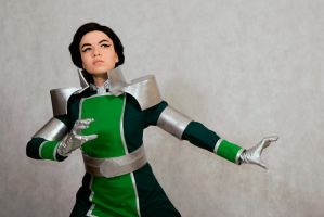 Kuvira uses bending by signore-illusionista